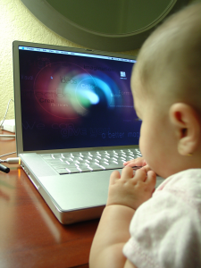 people using computers are getting younger!