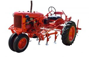 second hand tractor (red)